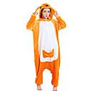 preiswerte Kigurumi Pyjamas-Erwachsene Kigurumi-Pyjamas Känguru Pyjamas-Einteiler Polar-Fleece Orange Cosplay Für Herren und Damen Tiernachtwäsche Karikatur Fest / Feiertage Kostüme