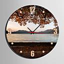 cheap Modern/Contemporary Wall Clocks-Modern / Contemporary Canvas Round Indoor,AA Wall Clock