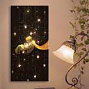 hesapli Tablolar-LED Kanvas Sanat Manzara Tek Panelli Dikey Duvar Dekor Ev dekorasyonu