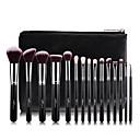 cheap Makeup Brush Sets-15pcs Makeup Brushes Goat Hair / Wool-Rose / Artificial Fibre Brush / Makeup Brush Sets