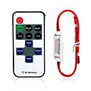 cheap Light Switches-12A Single color LED strip Dimmer RF Wireless Remote Controller for 3528 2835 5050 5630 5730 Led Tape