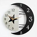 رخيصةأون ساعات جدران عصرية-الحديثة / المعاصرة خشب معدن أخرى داخلي,AA ساعة الحائط