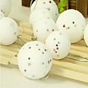 olcso Karácsonyi dekoráció-6db karácsonyfa díszítő labda matt buborék csillag