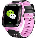 baratos Smartwatches-Relógios para crianças Chamadas com Mão Livre Áudio Bluetooth 2.0 iOS Android No slot Sim Card
