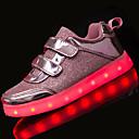 זול אביזרים לגברים-בנות נעליים טול אביב קיץ נוחות / נעליים זוהרות שטוחות הליכה ל כסף / ורוד / מוזהב