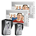 cheap Footwear & Accessories-MOUNTAINONE 7 Inch Video Door Phone Doorbell Intercom Kit 2-camera 2-monitor Night Vision