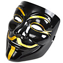 cheap Kaleidoscope-Halloween Mask / Masquerade Mask Movie Character / Horror Plastic / PVC(PolyVinyl Chloride) V for Vendetta 1 pcs Pieces Adults' Gift