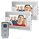 preiswerte Video-Türsprechanlage-700 TV Line 92 CMOS Klingelanlage Verkabelt Multifamily videotürklingel