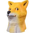 abordables Máscaras para Celebraciones-Máscaras de Halloween / Máscara Animal Cabeza de Perro Shiba Inu / Terror Látex / Caucho 1 pcs Piezas Adulto Regalo