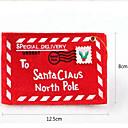 preiswerte Weihnachtsdeko-die Weihnachtsbaumanhänger Non-Woven-Umschlag Weihnachtskarten zufällig