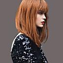 baratos Perucas de Cabelo Humano Sem Touca-moda elegante perucas de cabelo humano em linha reta para a mulher