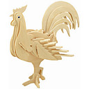 cheap 3D Puzzles-Wooden Puzzle Chicken Professional Level Wooden 1pcs Kid's Boys' Gift