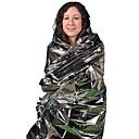 abordables Herramientas, Mosquetones y Cuerdas para Cámping-Emergency Blanket Impermeable, A Prueba de Viento, Emergencia para Senderismo - Inoxidable