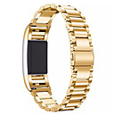preiswerte Smart Uhr Accessoires-Schwarz / Rose / Gold / Silber Edelstahl Klassische Schnalle Für Fitbit Uhr 20mm