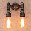 cheap Wall Sconces-Rustic / Lodge Wall Lamps & Sconces Metal Wall Light 110-120V / 220-240V 40W / E27