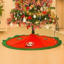 baratos Decorações Natalinas-Tapetes para Árvores Ornamentos Florais/Botânicos Férias Inspiracional Têxtil Natal Novidades Halloween Festa Decoração de Natal