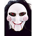 cheap Masks-Halloween Mask Practical Joke Gadget Halloween Prop Masquerade Mask Novelty Joker Movie Character Horror Plastic Pieces Unisex Adults'