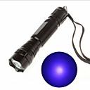 billige Kikkerter og teleskop-Ultraviolette lommelykter LED 130lm 1 lys tilstand Oppladbar / Ultrafiolett lys Camping / Vandring / Grotte Udforskning / Sykling /
