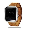 preiswerte Smart Uhr Accessoires-Uhrenarmband für Fitbit Blaze Fitbit Klassische Schnalle / Lederschlaufe Metall / Leder Handschlaufe