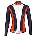 billige Cykeltrøjer-ILPALADINO Dame Langærmet Cykeltrøje Cykel Trøje, Hurtigtørrende, Ultraviolet Resistent, Åndbart, Refleksbånd