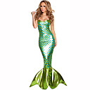 cheap Movie & TV Theme Costumes-Mermaid Tail Women's Christmas Halloween Carnival Festival / Holiday Halloween Costumes Outfits Solid Colored
