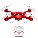 cheap RC Drone Quadcopters & Multi-Rotors-RC Drone X5UW 4CH 6 Axis 2.4G RC Quadcopter LED Lights / One Key To Auto-Return / Auto-Takeoff RC Quadcopter / Remote Controller / Transmmitter / Camera / Headless Mode / 360°Rolling / Hover