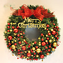 cheap Wall Stickers-Holiday Decorations Holidays & Greeting Garlands Party / Christmas 1 / 2 1pc