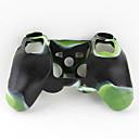 halpa Xbox 360 -tarvikkeet-Peliohjaimen suojakotelo Käyttötarkoitus Sony PS3 ,  Erikois Peliohjaimen suojakotelo Silikoni 1 pcs yksikkö