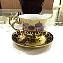 abordables Vajillas-Vasos Vidrio Tazas de Té / Botellas de Agua / Tazas de Café Regalo novia / Decoración 1 pcs / Marrón Café