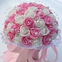 """זול פרחי חתונה-פרחי חתונה זרים חתונה / מסיבה\אירוע ערב קֶצֶף 9.84""""(לערך.25ס""""מ)"""