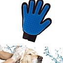 お買い得  犬グルーミング用品-ネコ 犬 クリーニング バス 防水 高通気性 カジュアル/普段着 ブルー