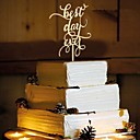 abordables Decoraciones de Boda-Cumpleaños Fiesta de Boda Madera Decoraciones de la boda Primavera Verano Otoño Invierno