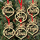 cheap Party Supplies-Christmas New Year Wood Wedding Decorations Garden Theme Winter