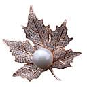 billige Moteøreringer-Dame Nåler - Perle Gull, Sølv
