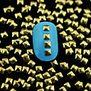abordables Utensilios de Horno-Encantador arte de uñas Manicura pedicura Metal Flor / Abstracto / Clásico Diario / Dibujos / Joyería de uñas