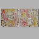 povoljno Top Umjetnik-Hang oslikana uljanim bojama Ručno oslikana - Sažetak Klasik Moderna Platno