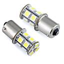 baratos Luzes Traseiras para Carros-2pcs Carro Lâmpadas 1W SMD 5050 LED Luz traseira