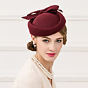 cheap Party Headpieces-Wool Hats Headpiece Wedding Party Elegant Feminine Style  Hats