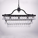 cheap Chandeliers-QINGMING® 3-Light Chandelier Downlight - Crystal, 110-120V / 220-240V Bulb Not Included / 10-15㎡ / E12 / E14