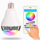 baratos Incandescente-RGB Sem Fio Outros Wireless Bluetooth 4, colorful dimming LED lights Branco