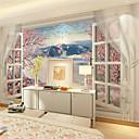 halpa Seinämaalaus-Seinämaalaus Kangas Seinäpinnat - liima tarvitaan Art Deco 3D