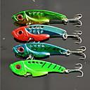preiswerte Hülse Tätowierung-1 pcs Harte Fischköder Vibration Angelköder Harte Fischköder Metal sinkend Seefischerei Fischen im Süßwasser