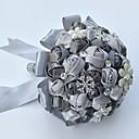 povoljno Cvijeće za vjenčanje-Cvijeće za vjenčanje Buketi / Jedinstven svadbeni dekor Special Occasion / Zabava / večer Perle / Umjetno drago kamenje / Svila 19,7