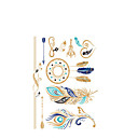cheap Tattoo Stickers-1 Non Toxic Lower Back 3-D Totem Series Others Temporary Paints