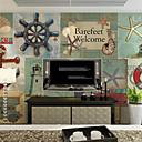 tanie Fresk-Fresk Brezentowy Tapetowanie - klej wymagane Art Deco 3D