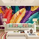 abordables Murales-Mural Lona Revestimiento de pared - adhesiva requerida Art Decó / 3D