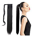 cheap Hair Pieces-Clip In Synthetic Hair Hair Piece Hair Extension Straight