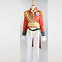 cheap Sexy Uniforms-Men's Boys' Soldier / Warrior Career Costumes Prince Charming Cosplay Costume Party Costume Patchwork Coat Pants Belt / Satin