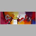 お買い得  動物画-ハング塗装油絵 手描きの - 抽象画 近代の キャンバス