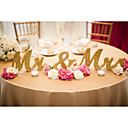 cheap Ceremony Decorations-Wood Table Center Pieces - Non-personalized Placecard Holders 3 Winter Spring Summer Fall All Seasons